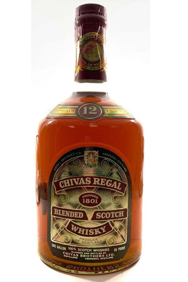 Chivas Brothers Blended Scotch Whisky 12-Years-Old NV