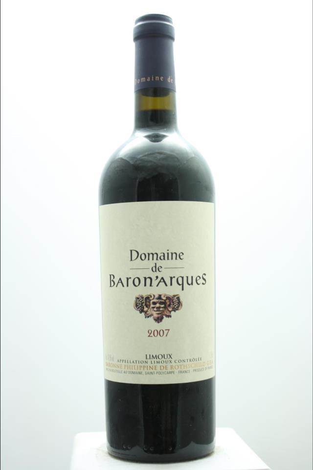 Domaine de Baron'Arques Limoux Rouge 2007