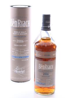 Benriach Disitillery Single Malt Scotch Whisky Single Virgin Oak Cask 10-Years-Old 2006