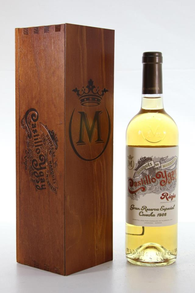Marqués de Murrieta Castillo Ygay Rioja Blanco Gran Reserva Especial 1986