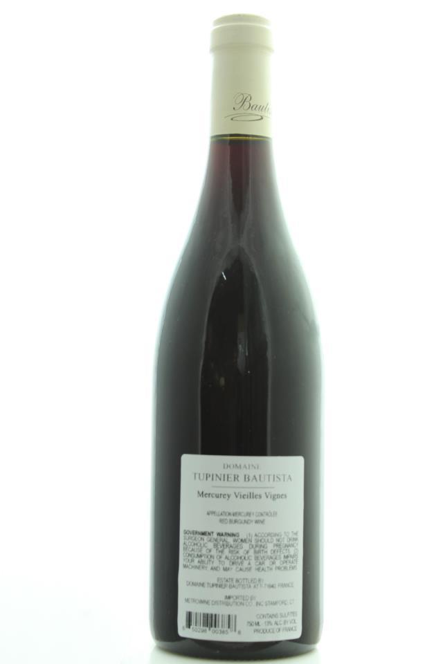 Tupinier-Bautista Mercurey Vielles Vignes 2013