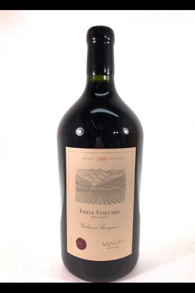 Araujo Estate Cabernet Sauvignon Eisele Vineyard 1993