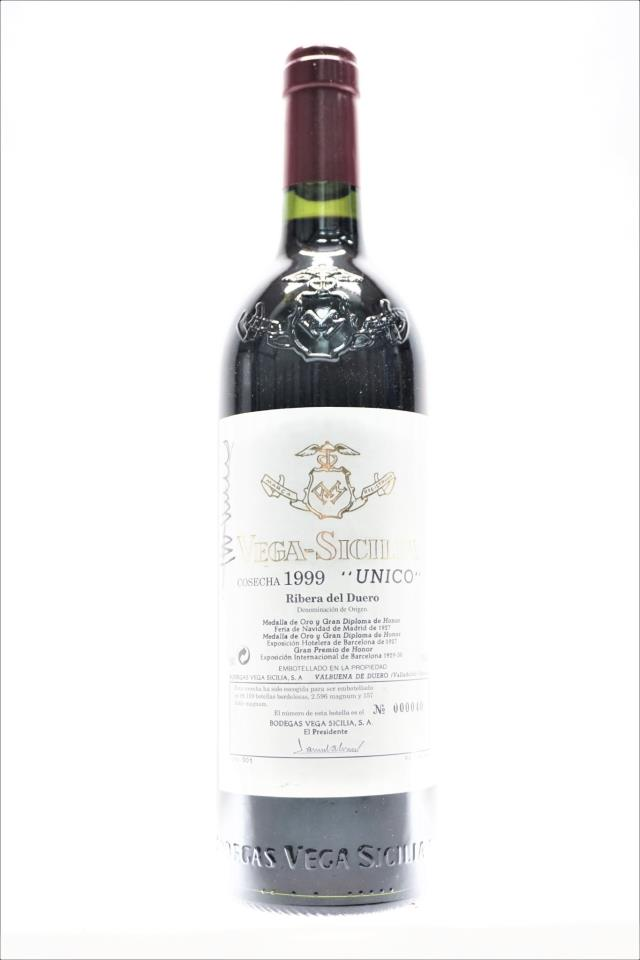 Vega-Sicilia Único 1999