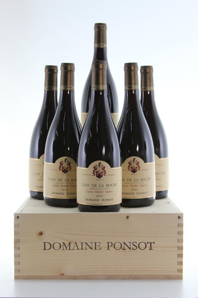 Domaine Ponsot Clos de la Roche Cuvée Vieilles Vignes 2012