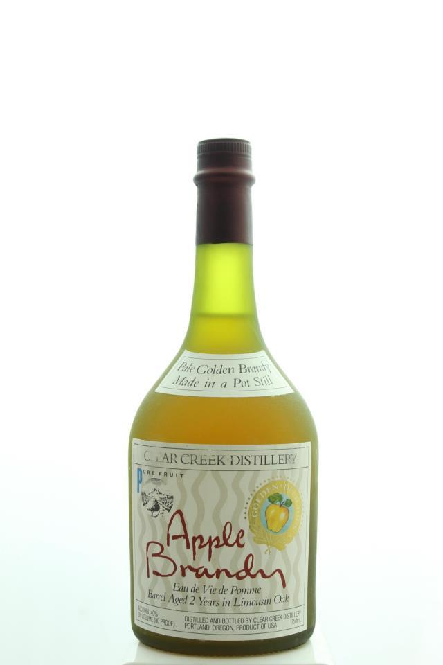 Clear Creek Distillery Pale Golden Apple Brandy 2-Year Barrel Aged NV