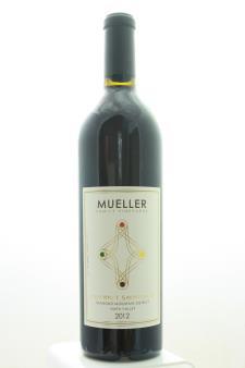 Mueller Family Vineyards Cabernet Sauvignon Diamond Mountain District 2012