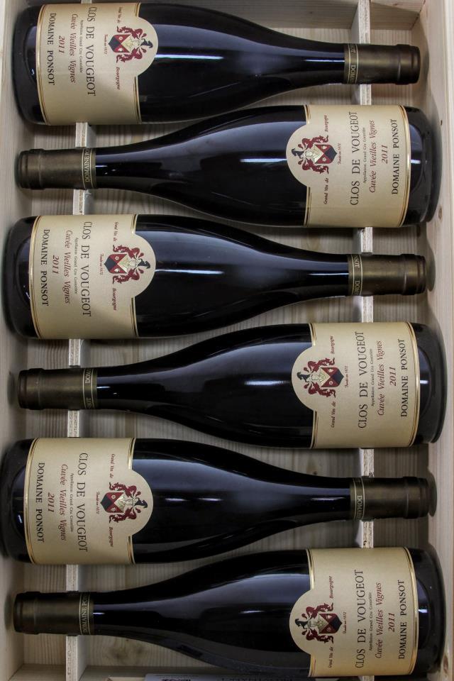 Domaine Ponsot Clos de Vougeot Cuvée Vieilles Vignes 2011