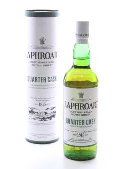 Laphroaig Islay Single Malt Scotch Whisky Quarter Cask The Perfect Marriage of Peat and Oak NV