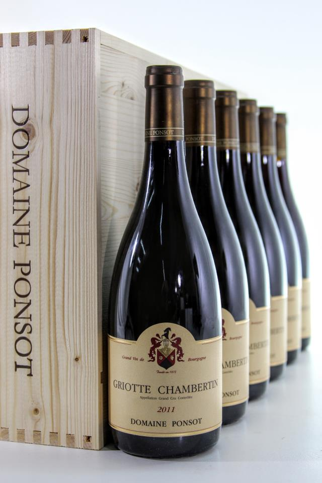 Domaine Ponsot Griotte-Chambertin 2011