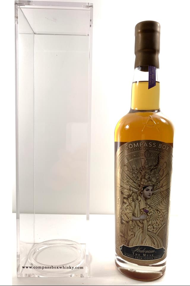 Compass Box Blended Grain Scotch Whisky Hedonism The Muse 2018 Release NV