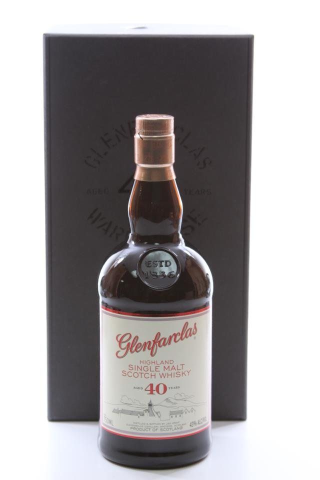 J&G Grant Glenfarclas Single Highland Malt Scotch Whisky 40-Years-Old NV