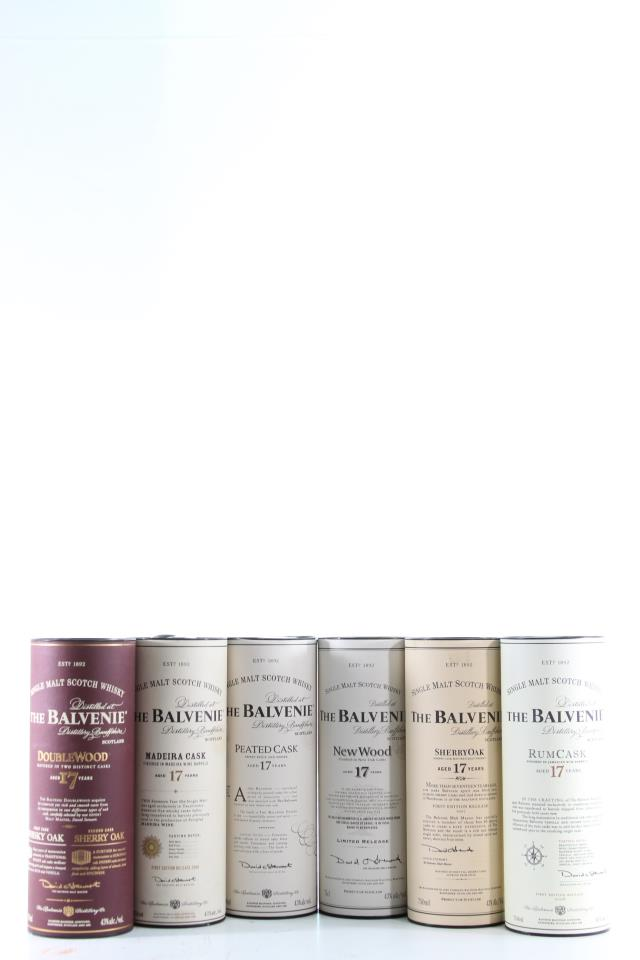The Balvenie Single Malt 17-Year-Old Assorted Case NV