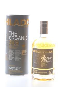 Bruichladdich Distillery High (Mid Coal Farms DalCross) High-Provenance Single Estate Organic Barley The Organic 8-Years-Old 2009