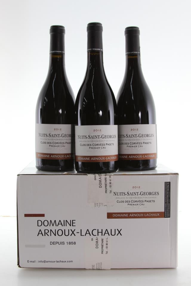 Arnoux-Lachaux Nuits-Saint-Georges Clos des Corvées Pagets 2012