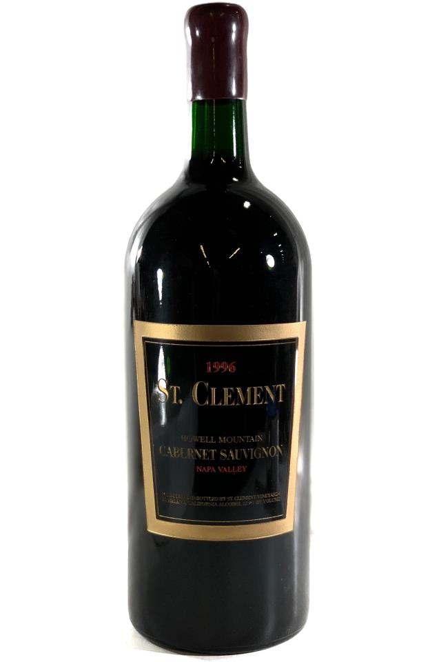 St. Clement Cabernet Sauvignon Howell Mountain 1996