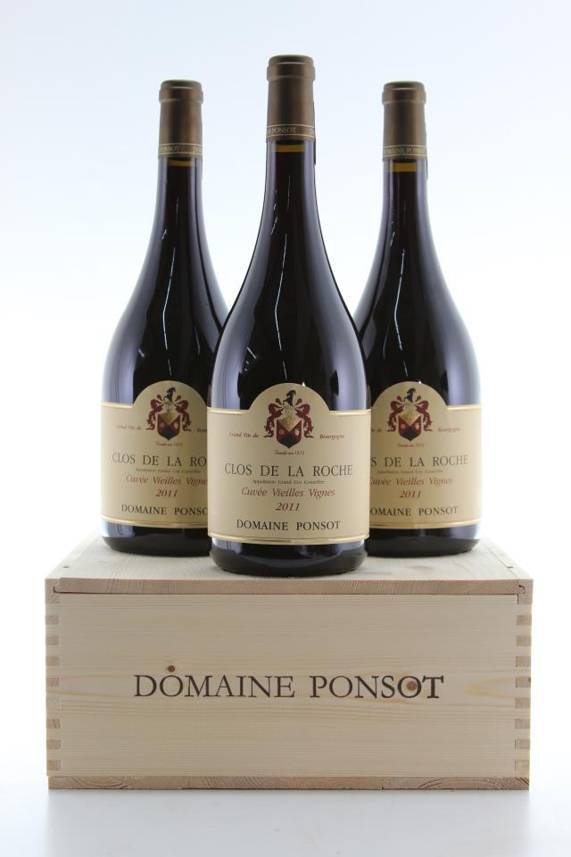 Domaine Ponsot Clos de la Roche Cuvée Vieilles Vignes 2011