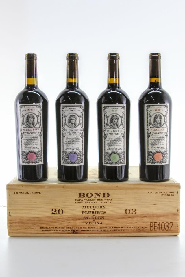 Bond Assortment Case 2003