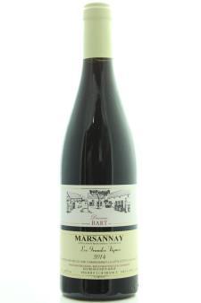 Domaine Bart Marsannay Les Grandes Vignes 2014