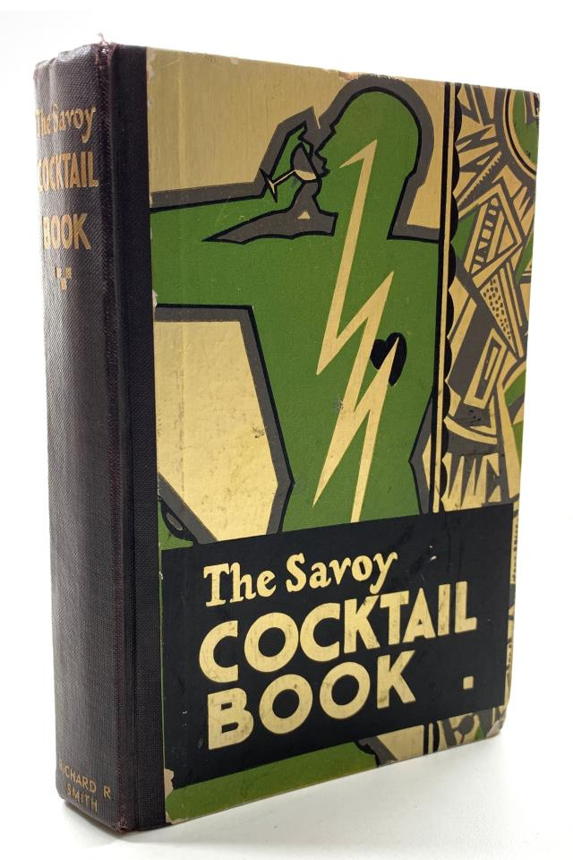 The Savoy Cocktail Book Original US Edition by Harry Craddock ©1930