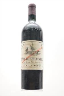 Beychevelle 1929