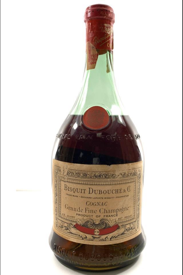 Bisquit Dubouché & Co. Cognac Grande Fine Champagne No. 68 NV