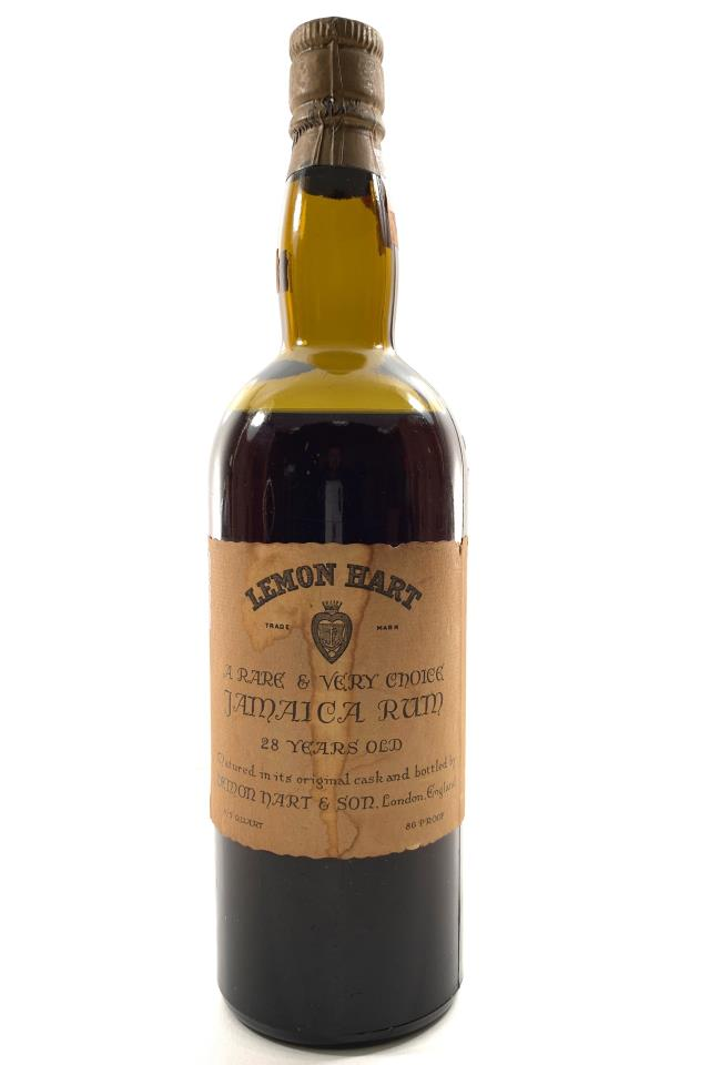 Lemon Hart Jamaica Rum 28-Year-Old NV