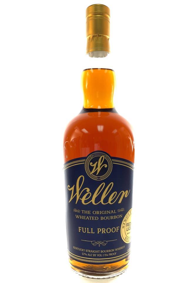 Weller Kentucky Straight Bourbon Whiskey Full Proof Red Hill Liquor Single Barrel No. 322 Select NV