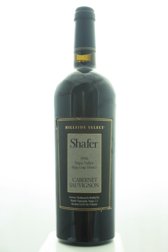 Shafer Cabernet Sauvignon Hillside Select 1996