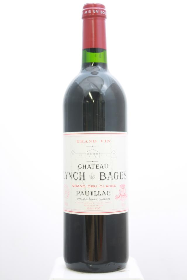 Lynch-Bages 2001