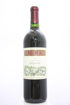 Burgess Merlot 1995