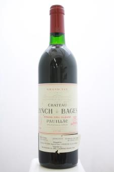 Lynch-Bages 1986