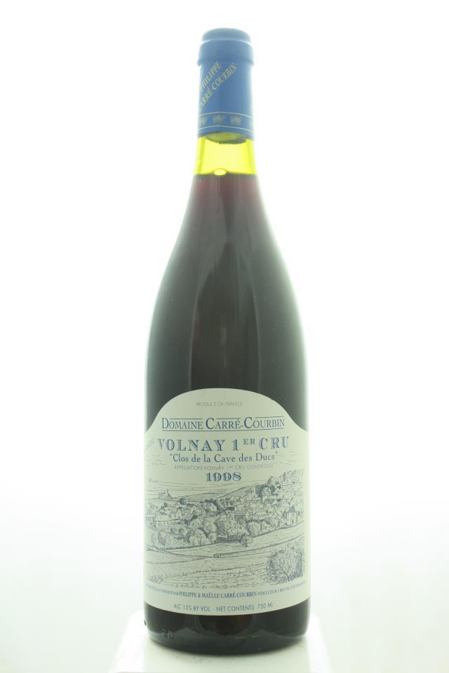 Carré-Courbin Volnay Clos de la Cave des Ducs 1998