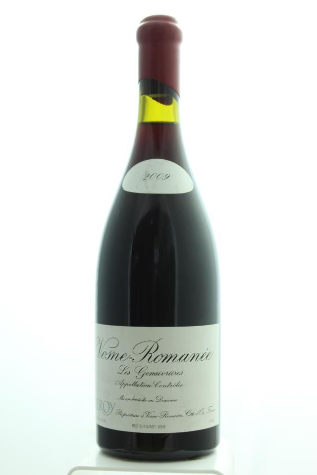 Domaine Leroy Vosne-Romanée Aux Genaivrières 2009