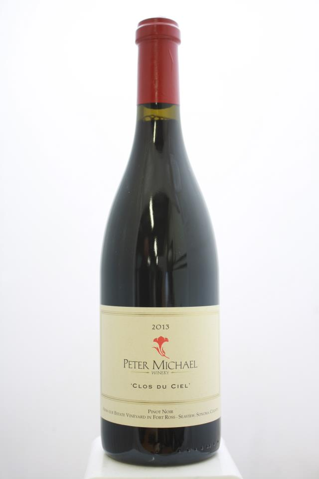 Peter Michael Pinot Noir Clos du Ciel 2013
