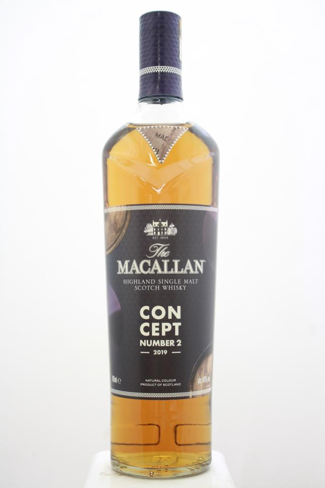 The Macallan Highland Single Malt Scotch Whisky Concept Number 2 2019