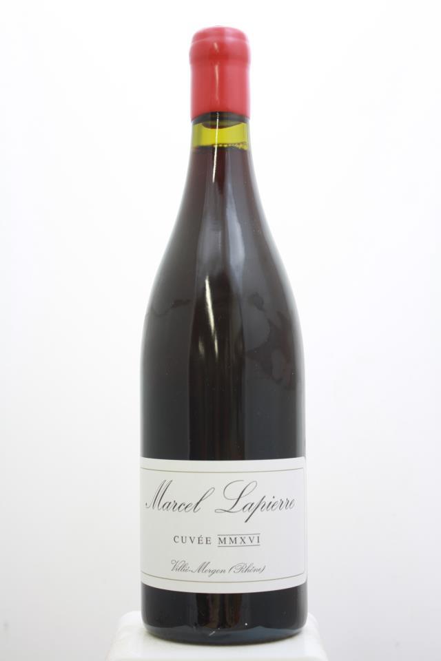 Marcel Lapierre Morgon Cuvée MMXVI 2016