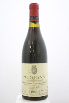 Domaine Comte Georges de Vogüé Musigny Cuvée Vieilles Vignes 1990