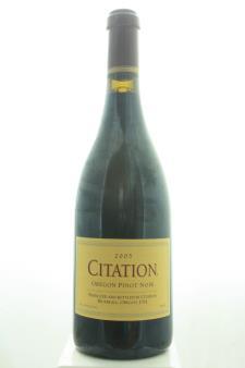 Citation Pinot Noir 2005