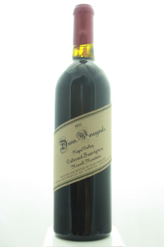 Dunn Cabernet Sauvignon Howell Mountain 1995