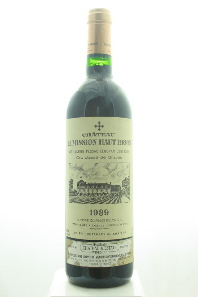 La Mission Haut-Brion 1989
