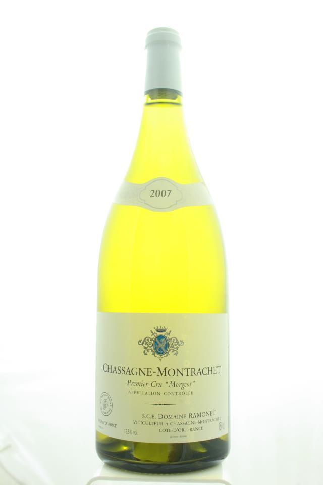 Ramonet Chassagne-Montrachet Morgeot Blanc 2007
