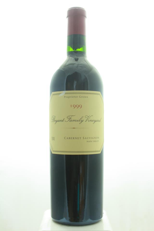 Bryant Family Vineyard Cabernet Sauvignon 1999