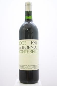 Ridge Vineyards Cabernet Sauvignon Monte Bello 1996
