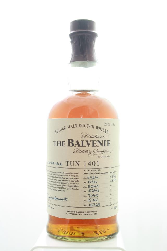 The Balvenie Single Malt Scotch Whisky Tun 1401 No.6 NV