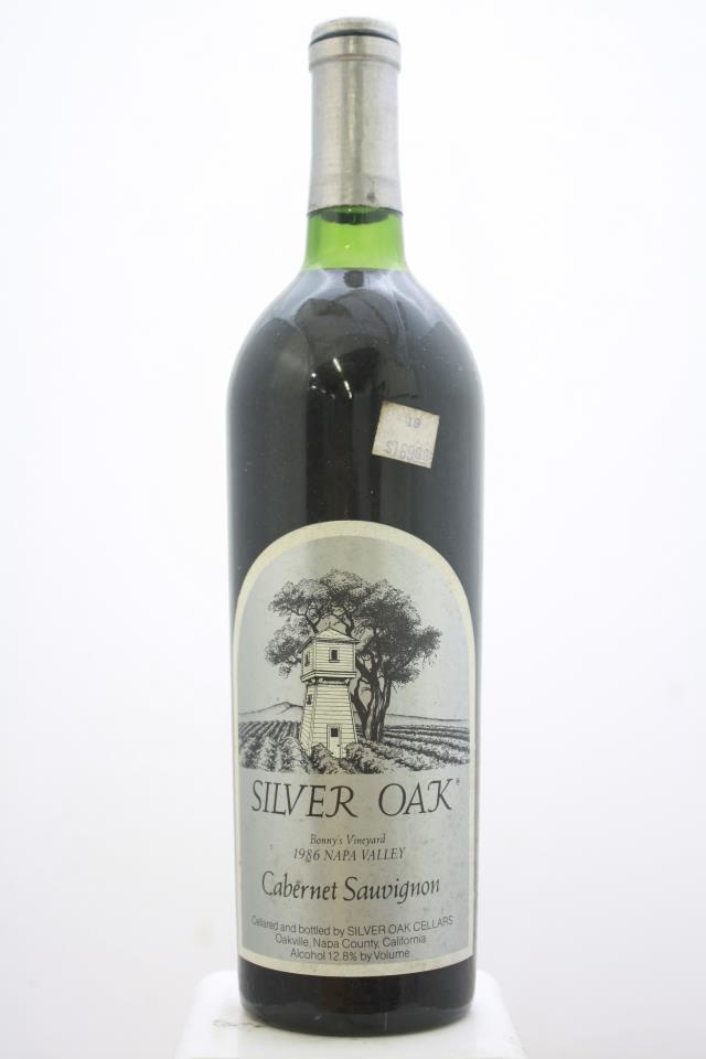 Silver Oak Cabernet Sauvignon Bonny's Vineyard 1986