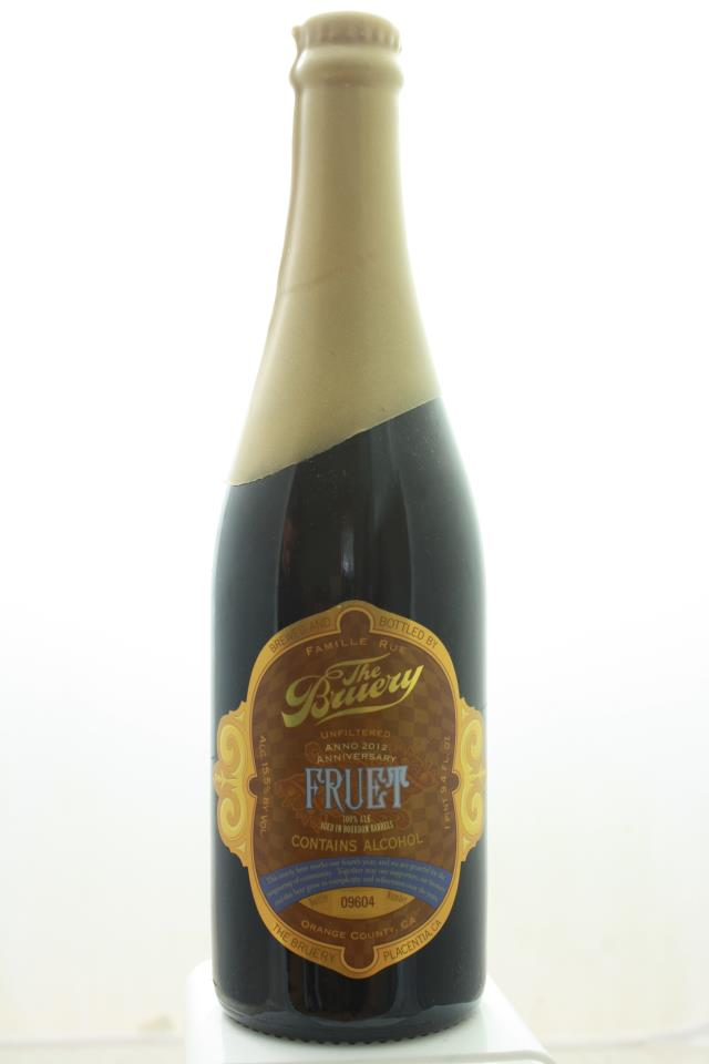 The Bruery Fruet Old Ale Aged in Bourbon Barrels 2012