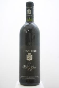 Henschke Shiraz Hill of Grace 1991