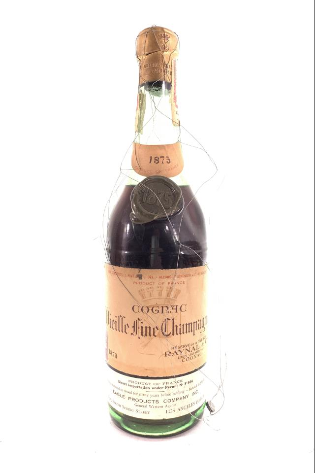 Raynal Vieille Fine Champagne Cognac 1875