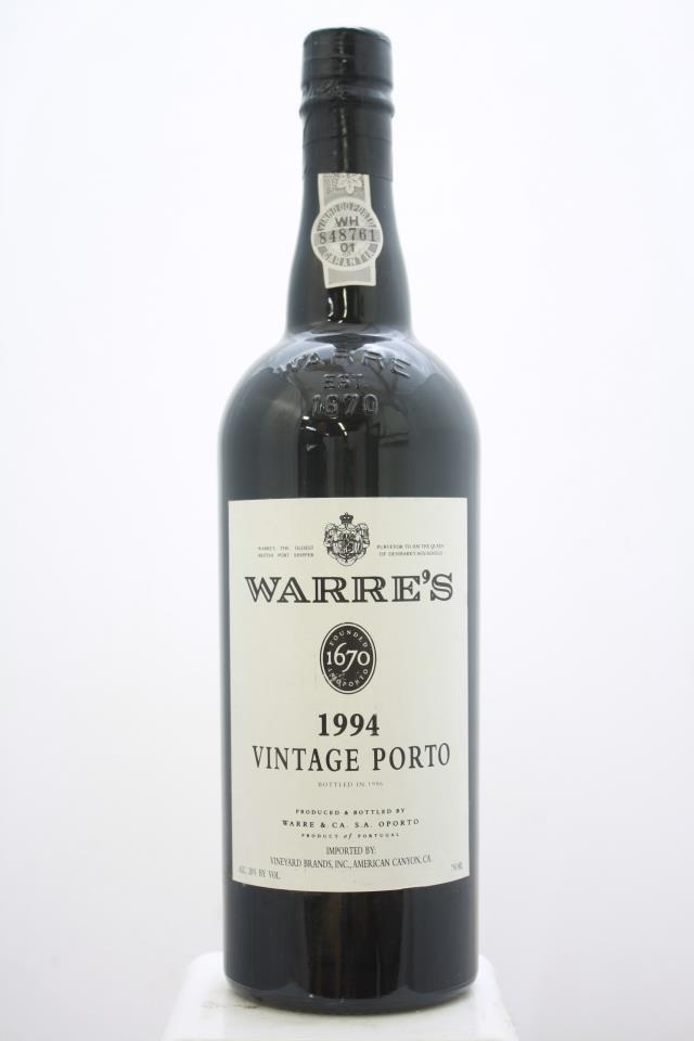 Warre's Vintage Porto 1994