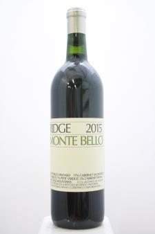 Ridge Vineyards Monte Bello 2015